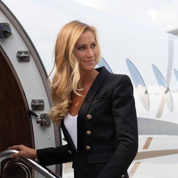 Zuzana Petáková: Cestování privátním letadlem vám dá svobodu